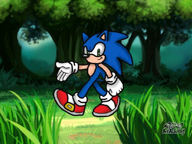 Sonic The Hedgehog by Katieladybuggie