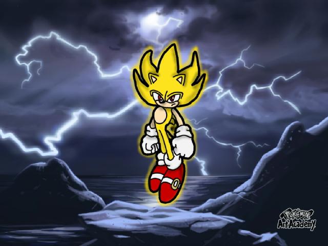 Super Sonic by Katieladybuggie