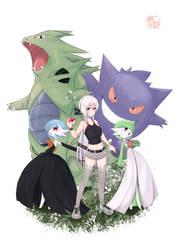 cmsn pokemon + other people's oc