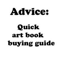 Advice: Quick Art Book Buying by Crevist