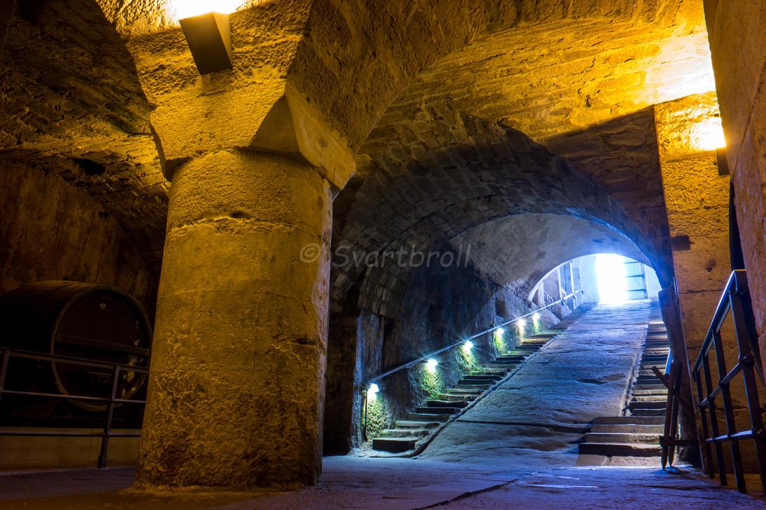 Festung Koenigstein Kellergewoelbe by Svartbroll