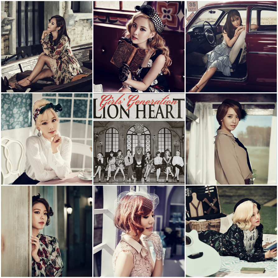 Girls' Generation || Lion Heart 3 by EnchantBlossom