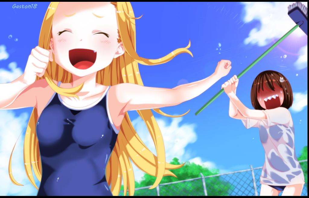 Fun in the pool by gaston18
