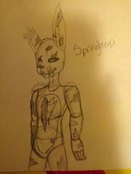 Springtrap (FNAF) by Nightwingthefox