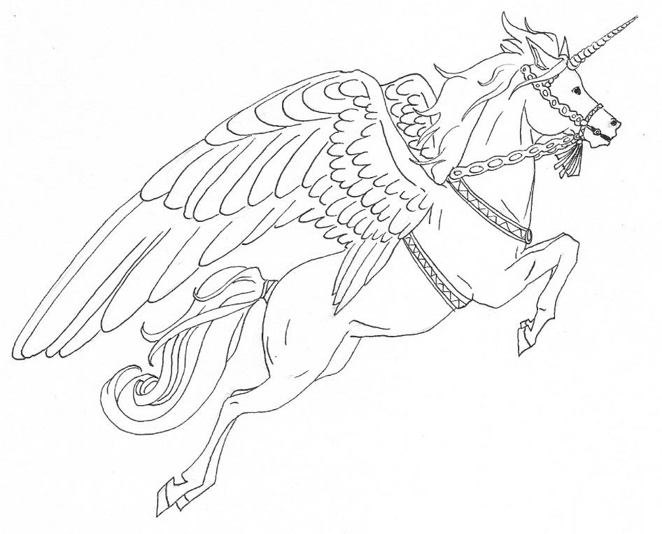 My Little Pony Alicorn Coloring Pages : Alicorn coloring pages
