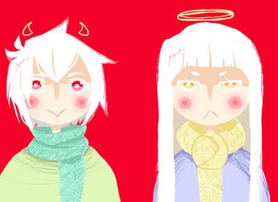 siblings by yomigreenbunny