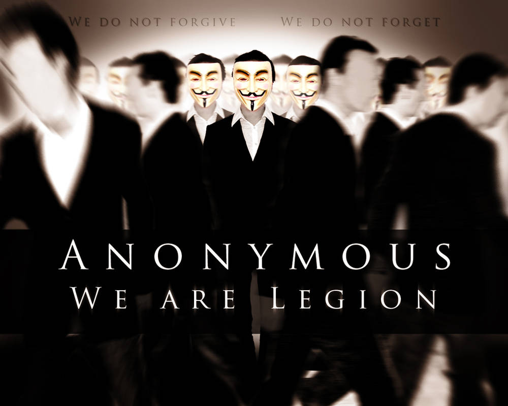 Anonymous We are Legion by RockLou