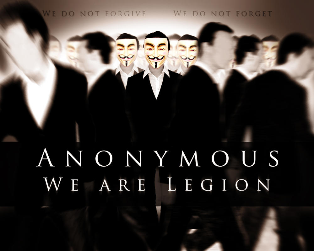 Anonymous We are Legion by RockLou beautiful butts in porn.