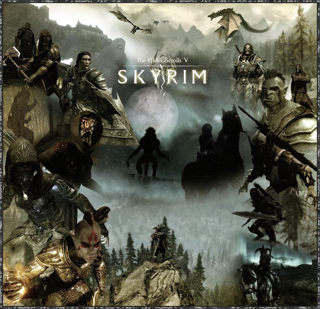 Skyrim by RockLou