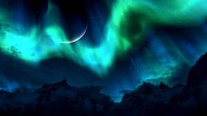 Skyrim Northern Lights by RockLou