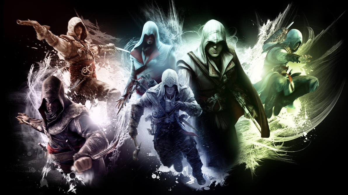 The creed assassins creed wallpaper by rocklou on deviantart the creed assassins creed wallpaper by rocklou voltagebd Gallery