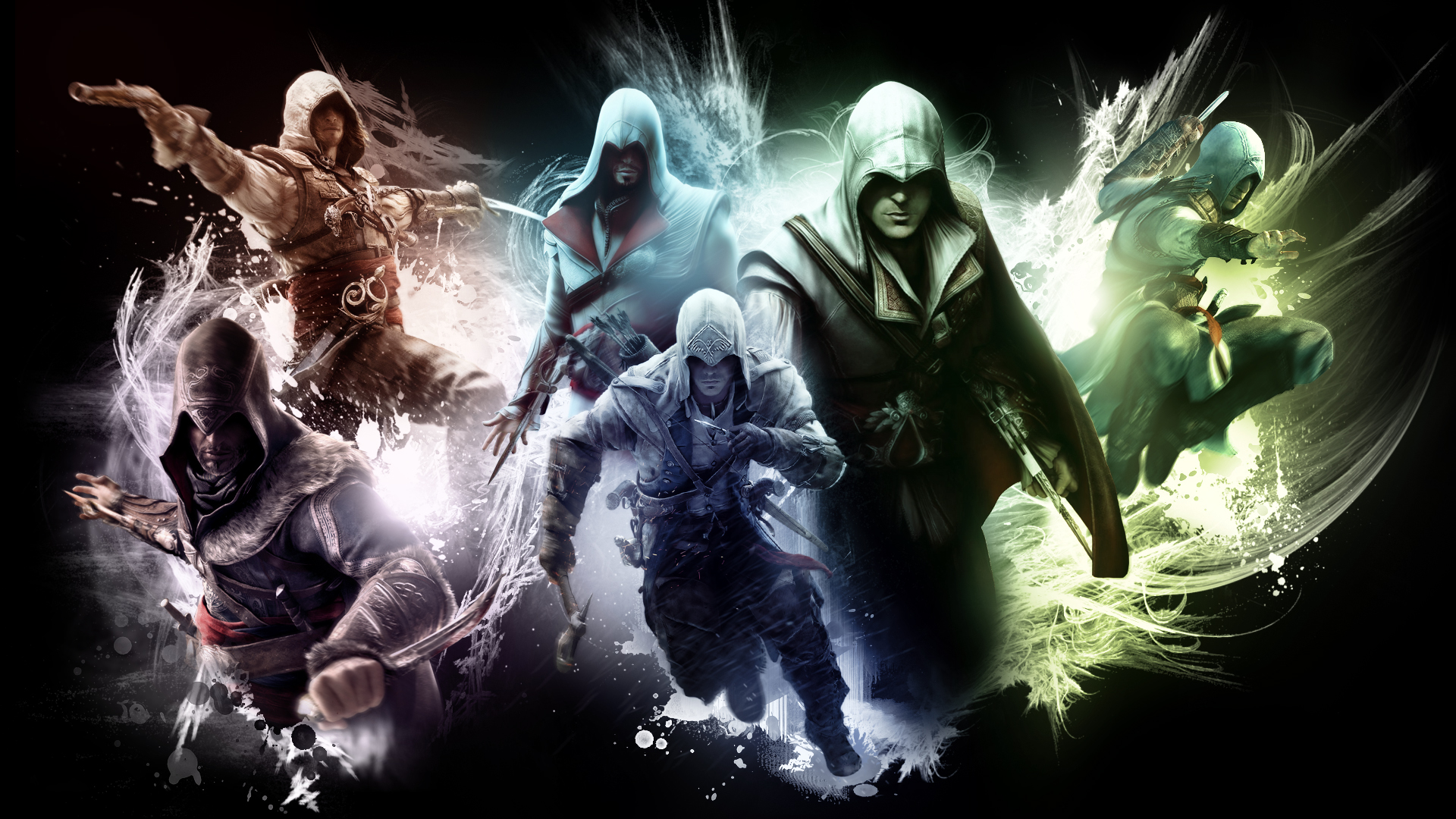 The Creed Assassin S Creed Wallpaper By Rocklou On Deviantart