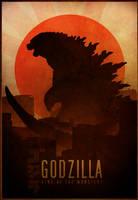 Godzilla poster by RockLou