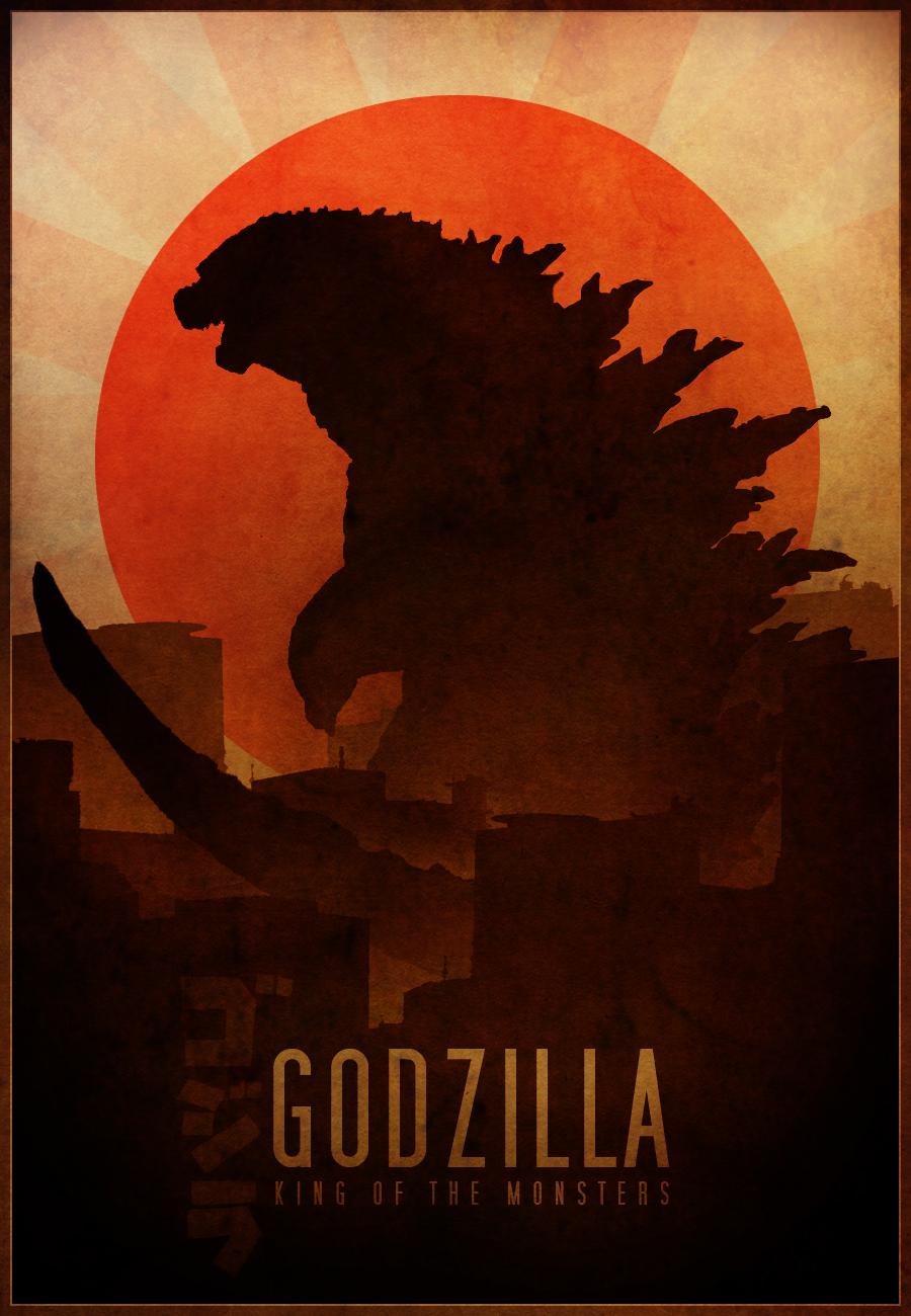Godzilla poster by RockLou on DeviantArt