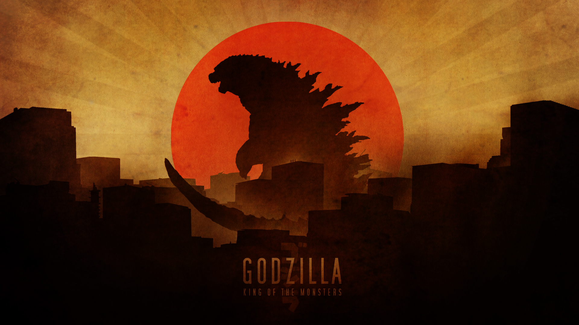 Godzilla wallpaper by RockLou on DeviantArt