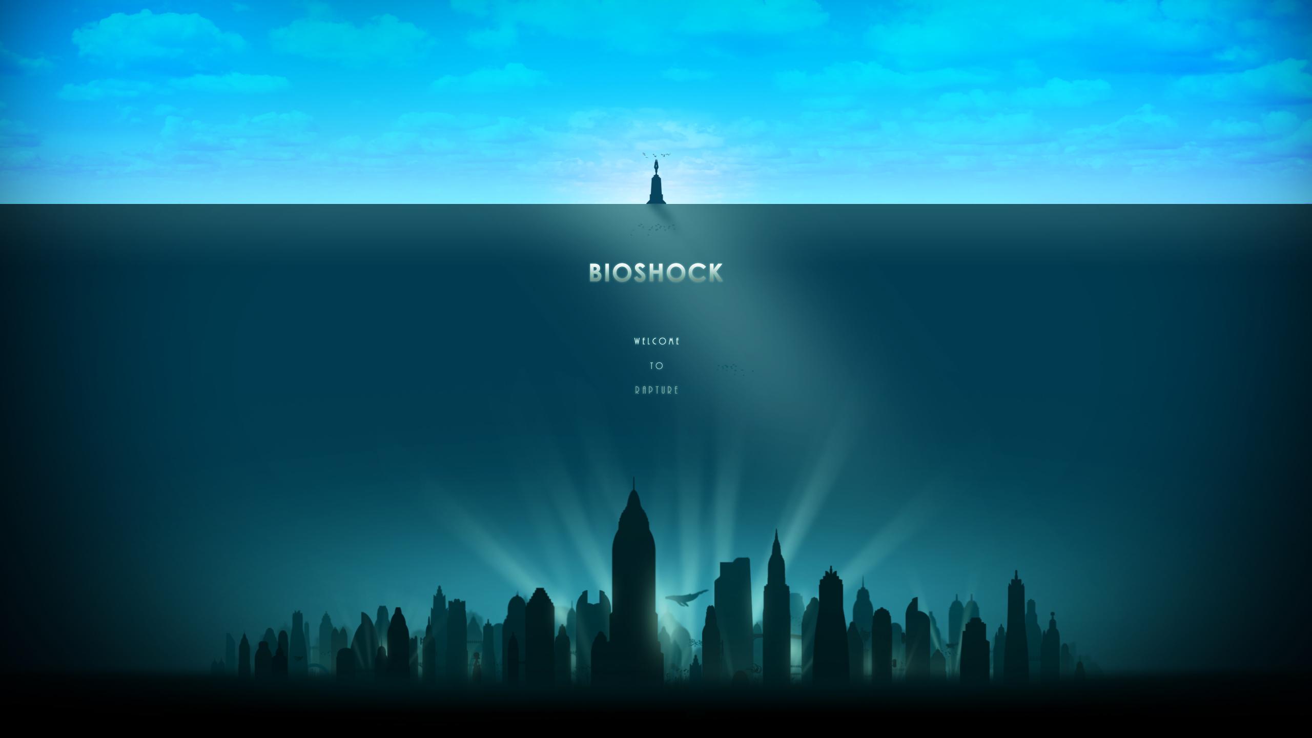 Bioshock Wallpaper 2560x1440 By Rocklou On Deviantart