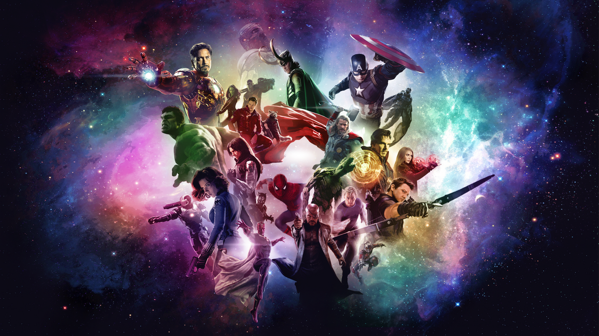 Marvel Cinematic Universe Wallpaper by RockLou