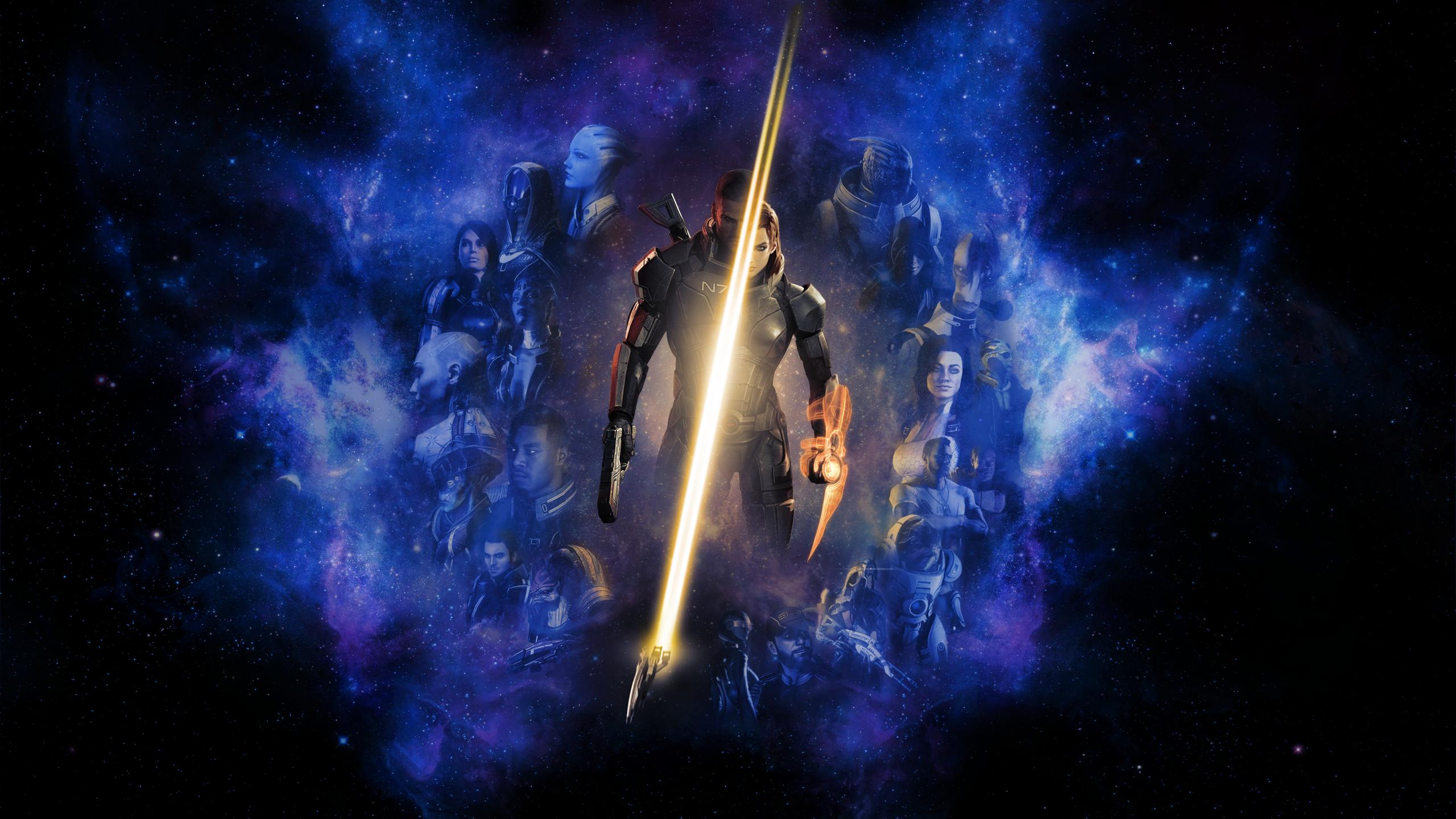 Mass Effect Desktop Backgrounds: Mass Effect Wallpaper By RockLou On DeviantArt