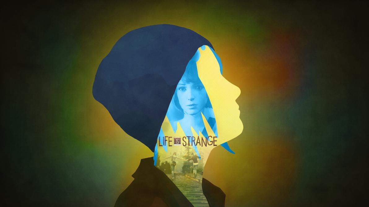 Life Is Strange - Chloe Silhouette Wallpaper by RockLou