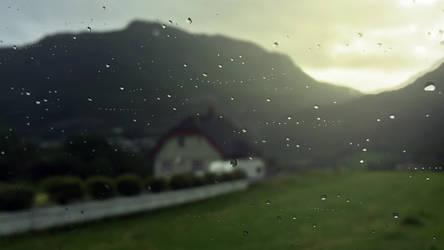 Sunset Rain by RockLou