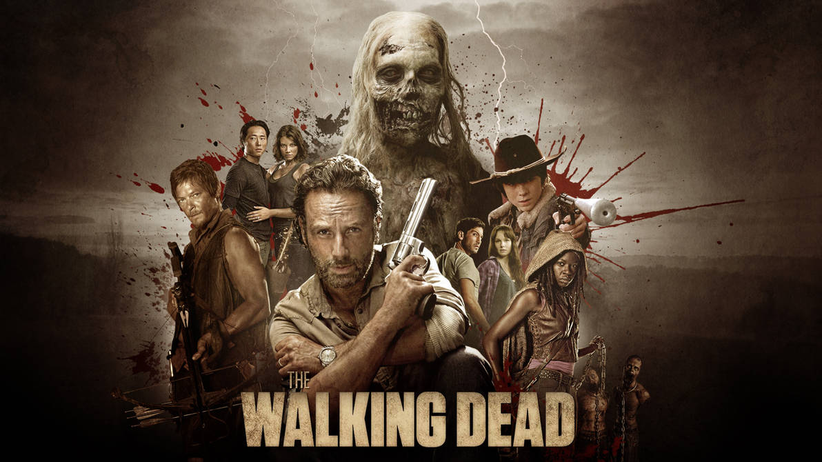 The Walking Dead collage - Wallpaper by RockLou ...