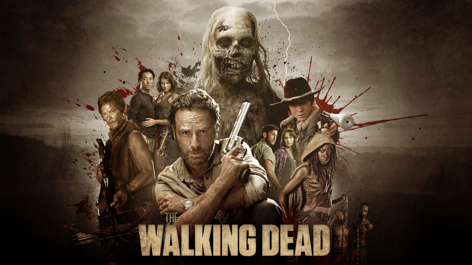 ... The Walking Dead collage - Wallpaper by RockLou