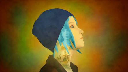 Life Is Strange - Chloe Wallpaper (No logo)