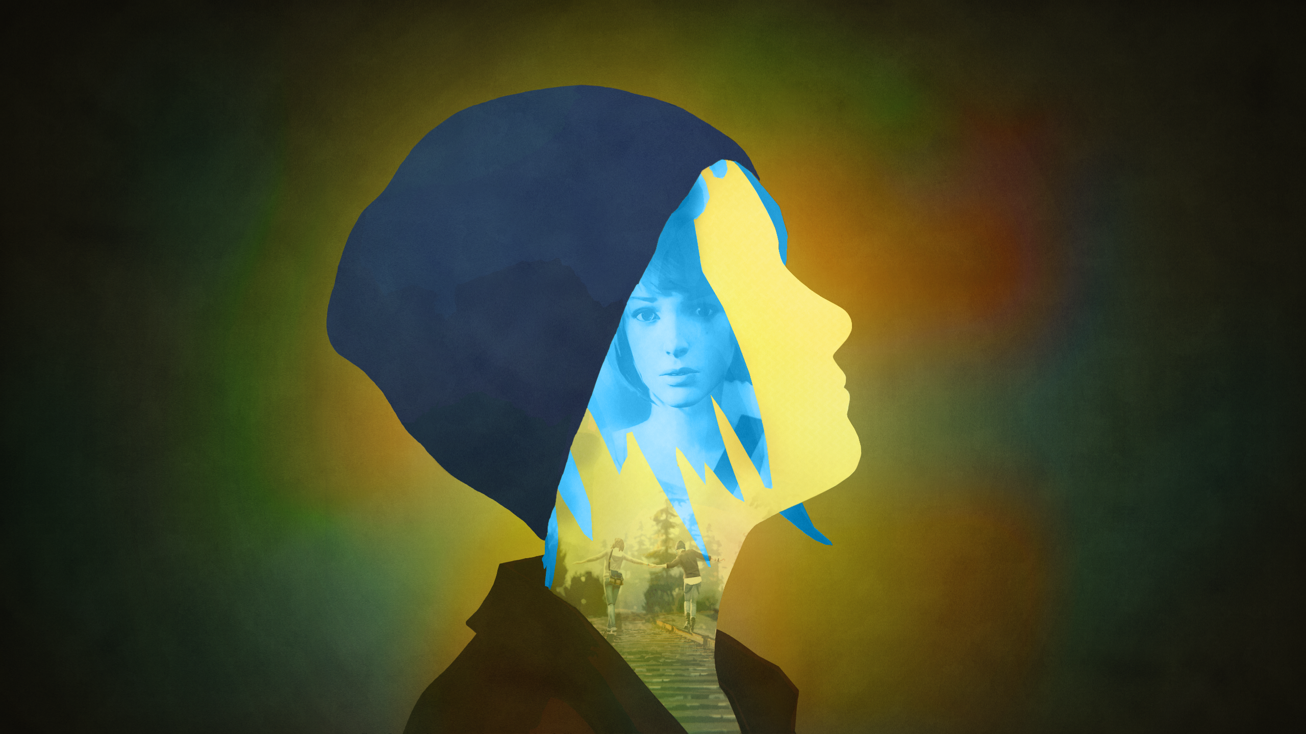 Life Is Strange - Chloe Silhouette (No logo) by RockLou