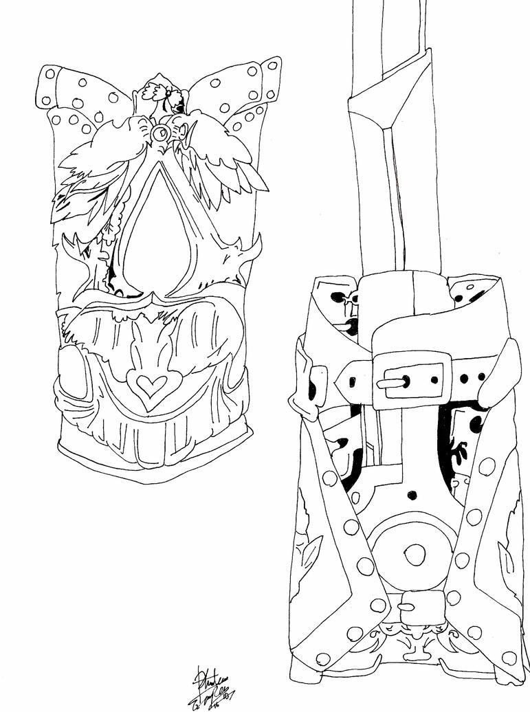 Hidden Blade Mechanics By Tsuchiichi On Deviantart