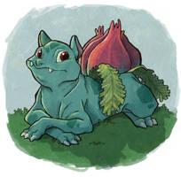 ivysaur by julv