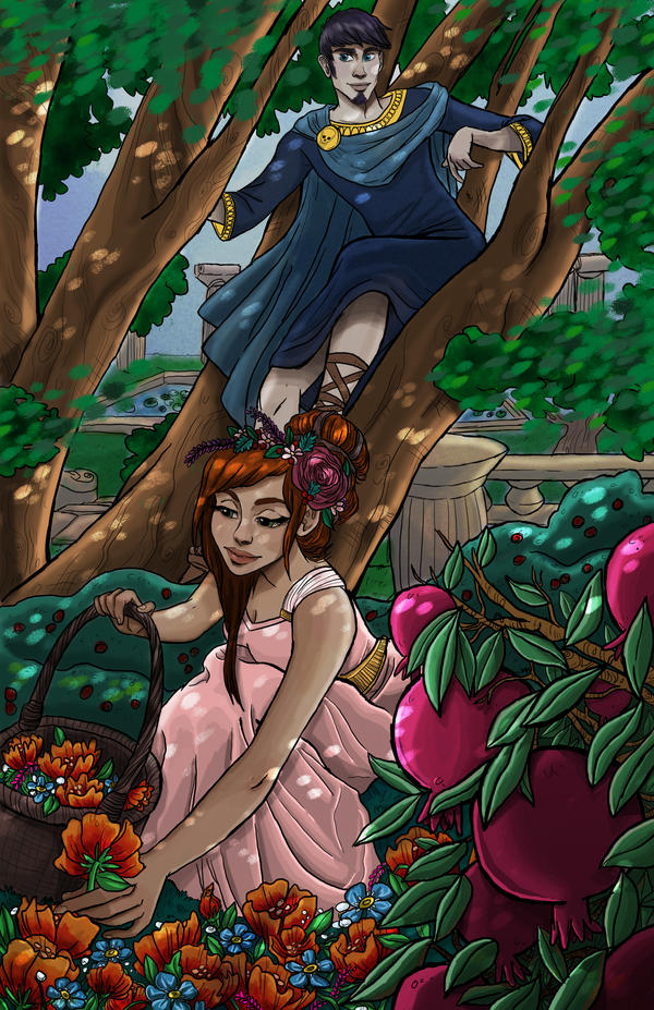Hades and Persephone, Take 2 by julv