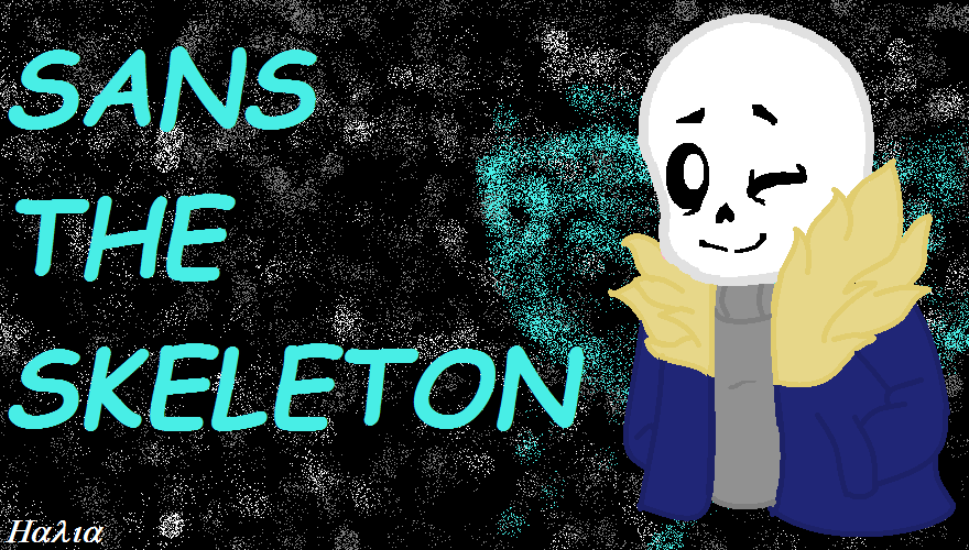 Sans The Skeleton Wallpaper by StrawberryIcicle on DeviantArt