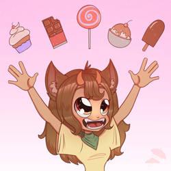 Chaya loves sweets