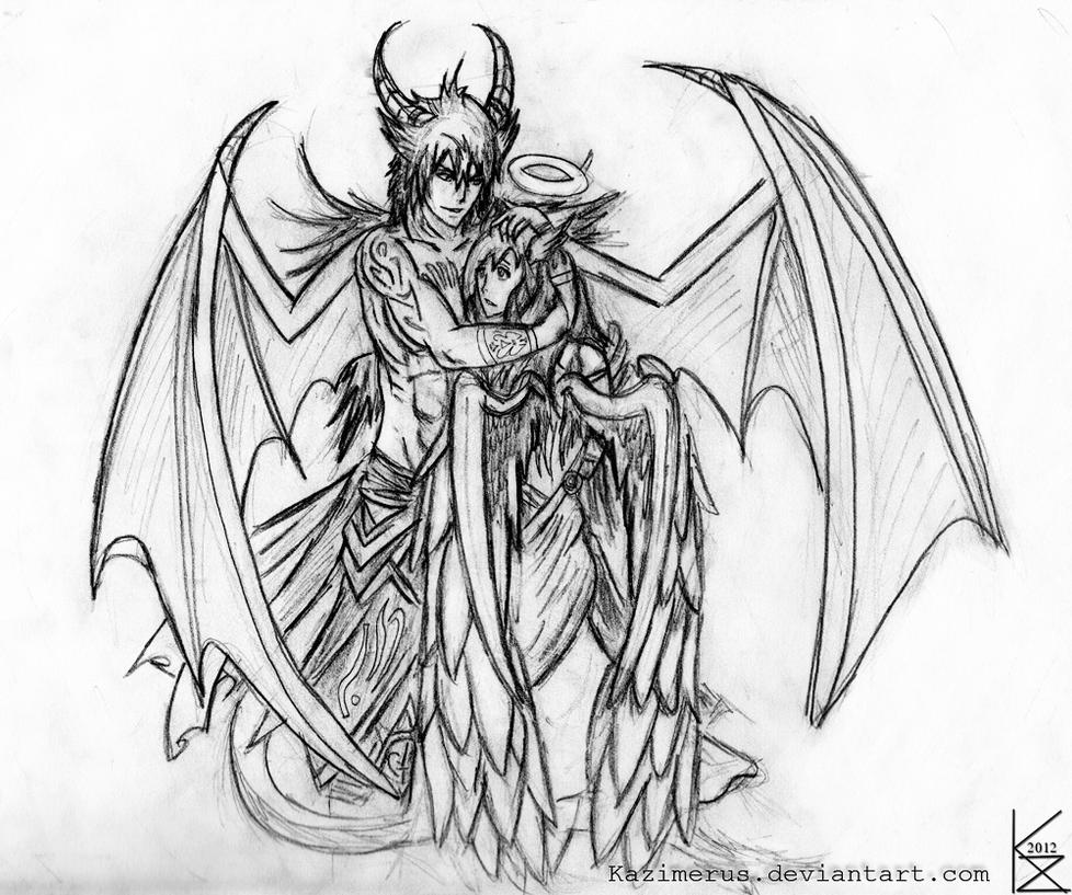the gallery for gt pencil sketches of demons