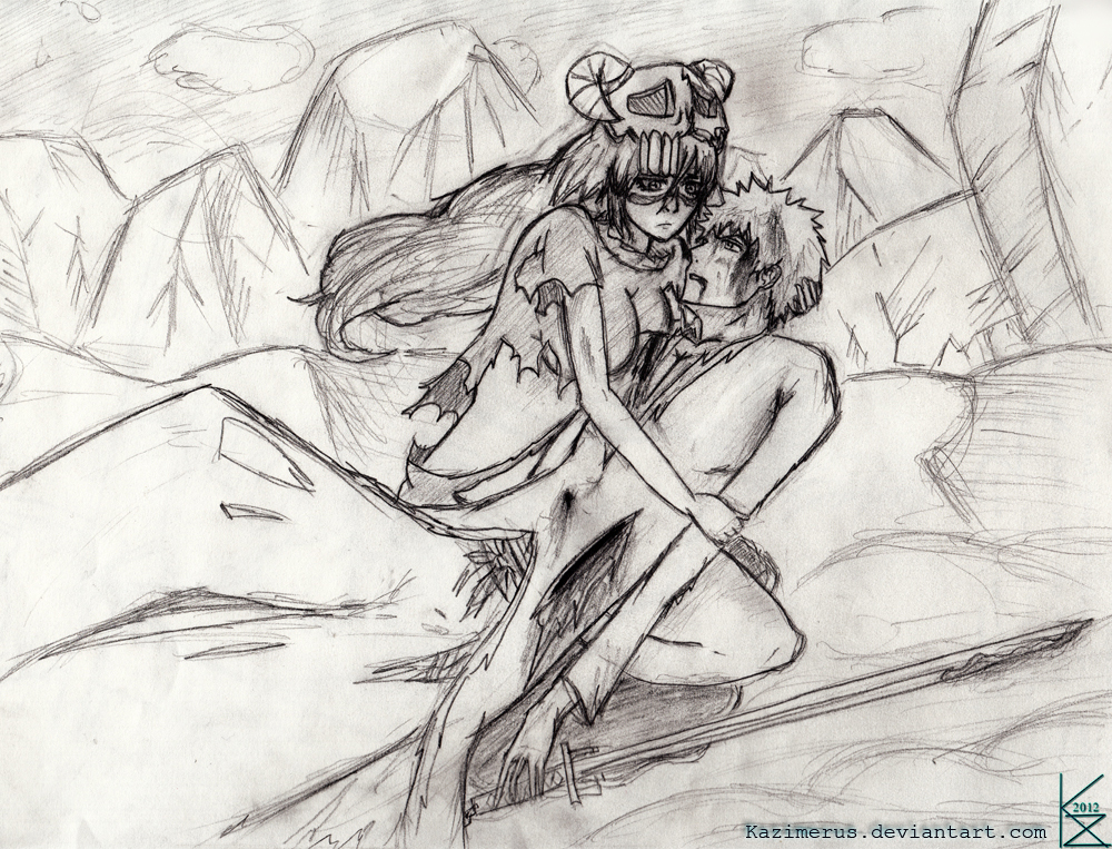 Bleach - I Will Protect You (Sketch) by Kazimerus