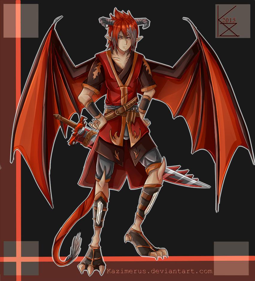 Red Dragon by Kazimerus