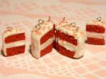 Red Velvet Cake Charms