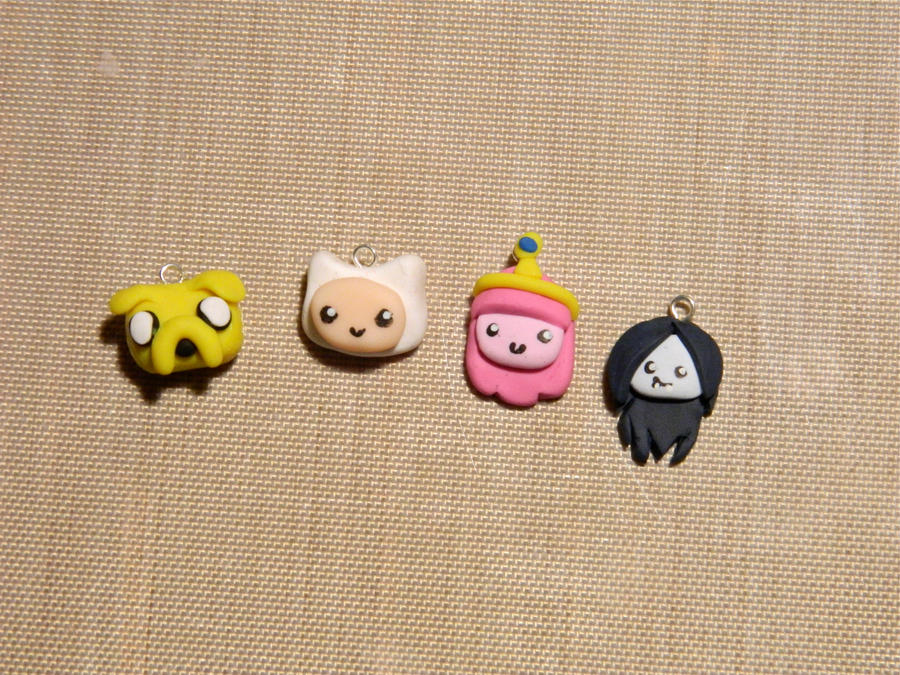 Adventure Time Charms