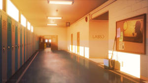 School Hall in the Afternoon