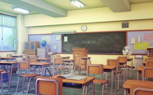 Classroom by JakeBowkett