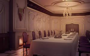 Dining Room by JakeBowkett