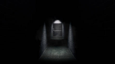 Underground Corridor by JakeBowkett