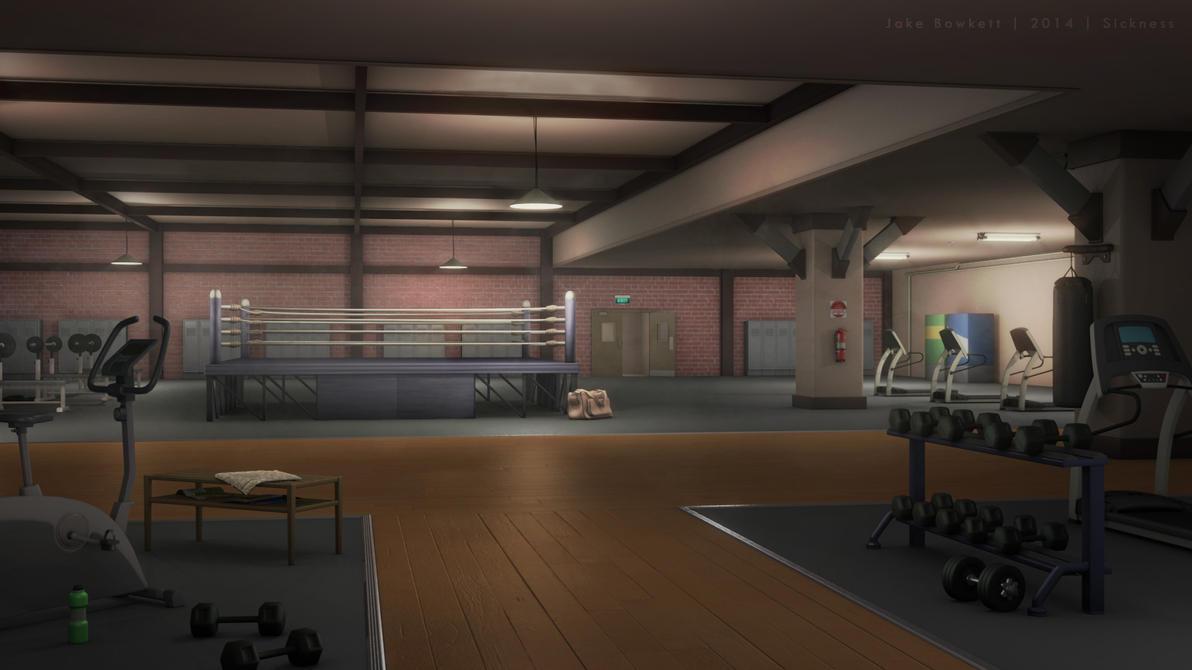 Boxing Gym by JakeBowkett on DeviantArt