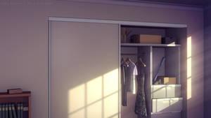 Morning Bedroom by JakeBowkett