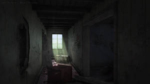 Dilapidated House Interior