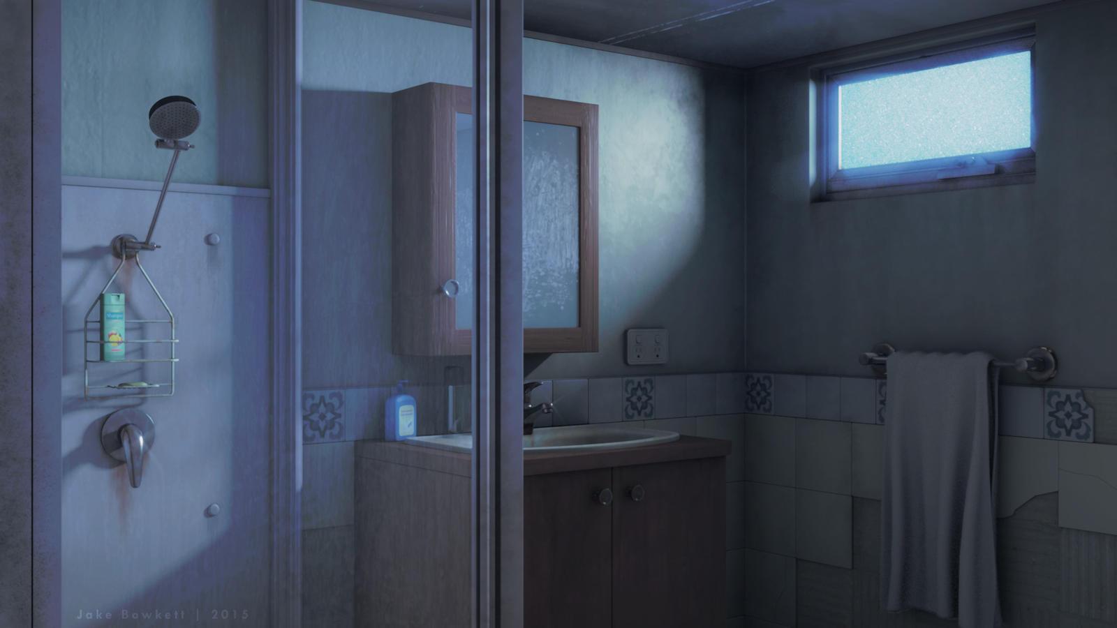 Bathroom in Disrepair [day] by JakeBowkett