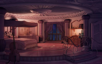 Princess's Room [night] by JakeBowkett