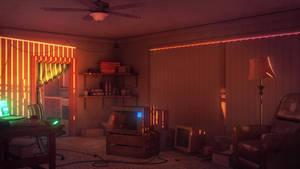 Senri's Apartment by JakeBowkett
