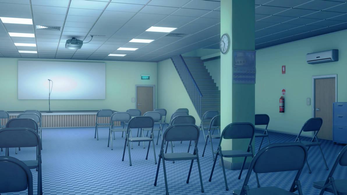 Improvised Church Interior