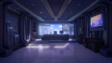 CEO's office by JakeBowkett